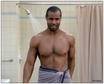 Isaiah Mustafa in Old Spice ad
